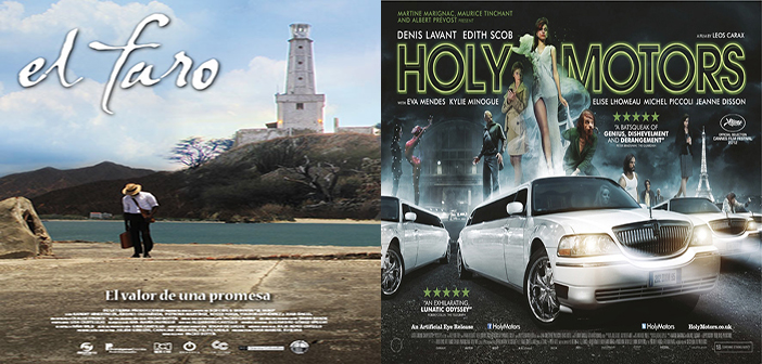 "ESTRENO: ""Holy Motors"" – SIGUE: ""El Faro"" – Sala Country, Agosto 15 – 20"