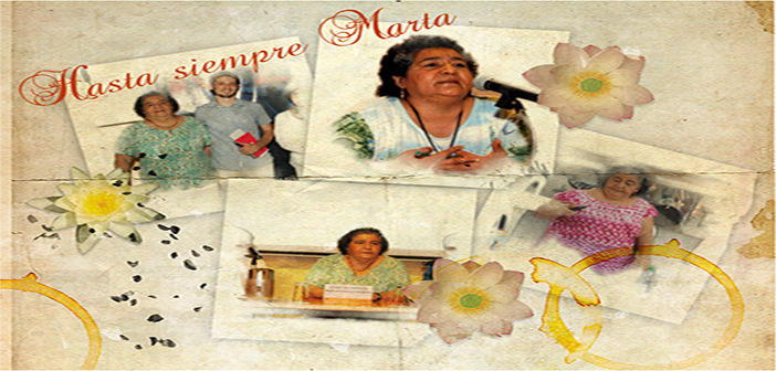 HOMENAJE A MARTA YANCES.  Cinemateca Sede Country, Febrero 23 – 2015 Hora: 5:00 pm