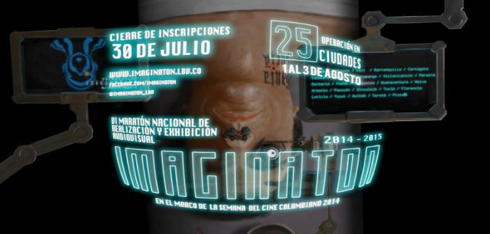 Una maratón con lo mejor del patrimonio audiovisual colombiano en Imaginatón 2014-2015; sede Boston, Agosto 1.