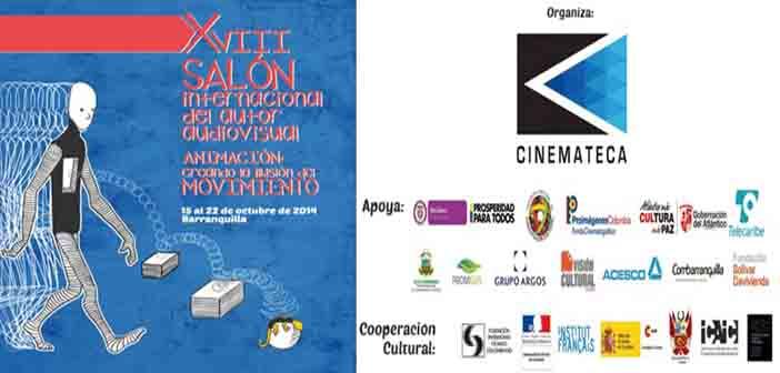 Premuestra de cortos animados, antesala a inauguración del 18° Salón Internacional del Autor Audiovisual, Octubre 15, 9 a 1 pm.