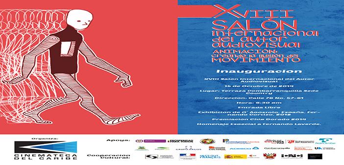 Invitación XVIII Salón Internacional del Autor Audiovisual. Animación: Creando la ilusión de movimiento.