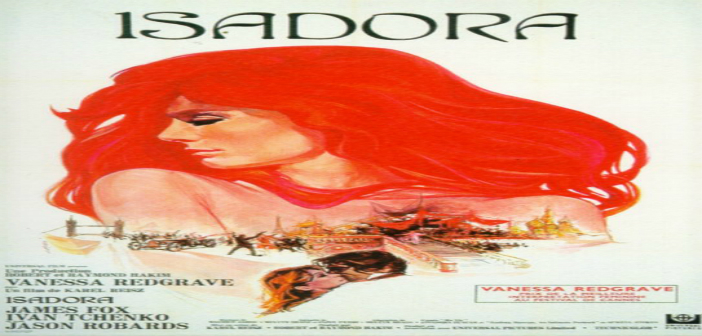 ISADORA Cine foro Sala Boston MARTES 07 de Octubre 6:00 pm Entrada Libre