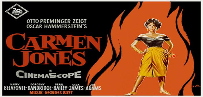 CARMEN JONES Cine foro Sala Boston MARTES 21 de Octubre 6:00 pm Entrada Libre