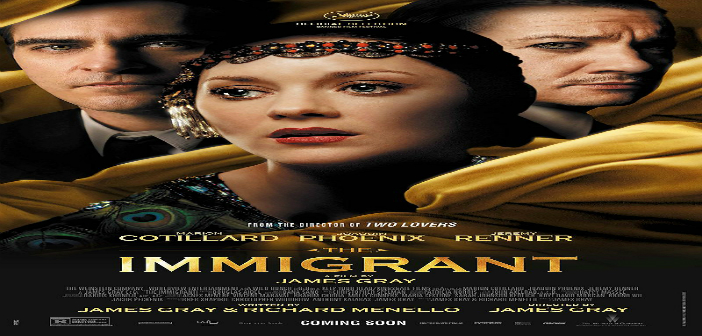 La Inmigrante (The Immigrant) Diciembre 26 a Enero 1 / 2015. Sala Country 4:30 y 7:00 p.m.
