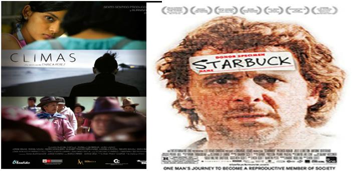 2 películas del 5 al 11 de Dic Sala Country 4 horarios: 3:00 – 5:00 – 7:00 – 9:00 pm.