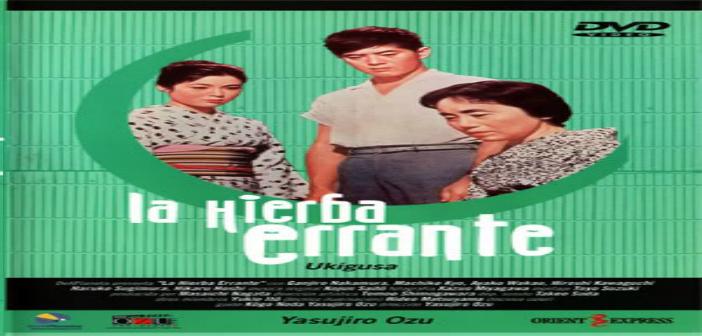 LA HIERBA ERRANTE. Cine Foro CINEXCUSA Martes 21 de Abril Sala Boston 6:00 pm Entrada Libre