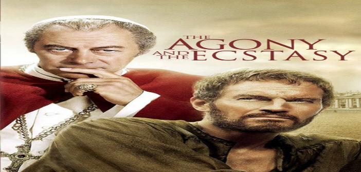 LA AGONIA Y EL EXTASIS. Cine foro Cinexcusa Sala Boston 19 de mayo 6:00 pm Entrada Libre