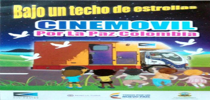 """""""Por la Paz de Colombia"""": Cinemóvil en Santa Marta y Barranquilla."""