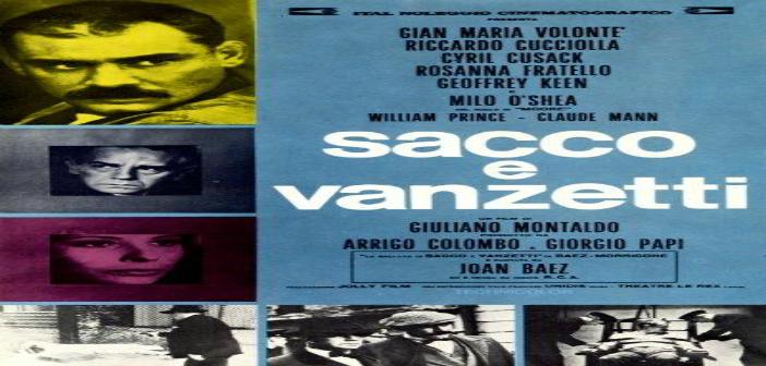 SACCO Y VANZETTI Cine Foro Sala Boston 6:00 pm Entrada Libre