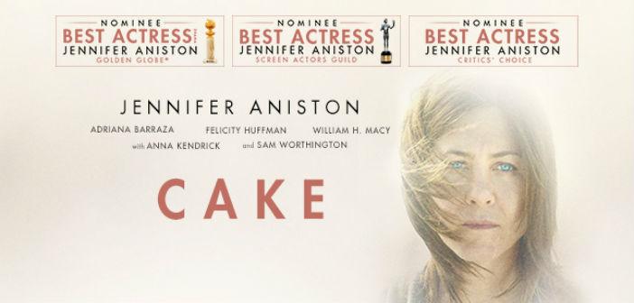 CAKE: UNA RAZÓN PARA VIVIR (Cake)  Agosto 27 a Septiembre 2. 4:30 y 7:00 p.m. ELLA.  Agosto 27 a Septiembre 2. 9:00 p.m.