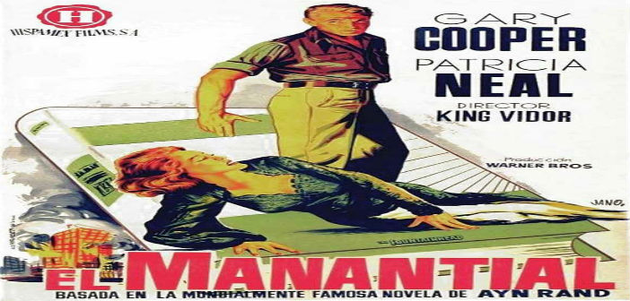 EL MANANTIAL Cineforo Cinexcusa Sala Boston Agosto 11 Hora 06:00 pm Entrada Libre