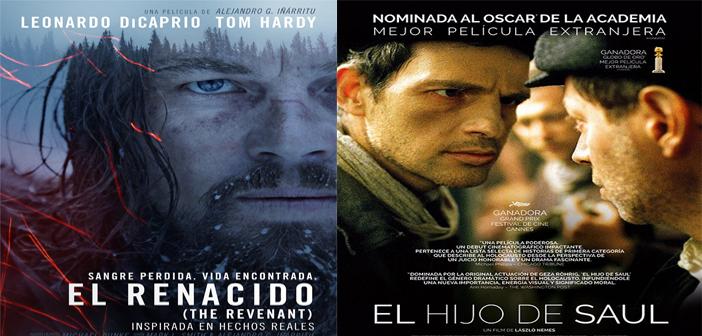 EL RENACIDO. (The Revenant) y EL HIJO DE SAÚL. (Saul Fia) del 25 de febrero al 4 de marzo en Sala Country