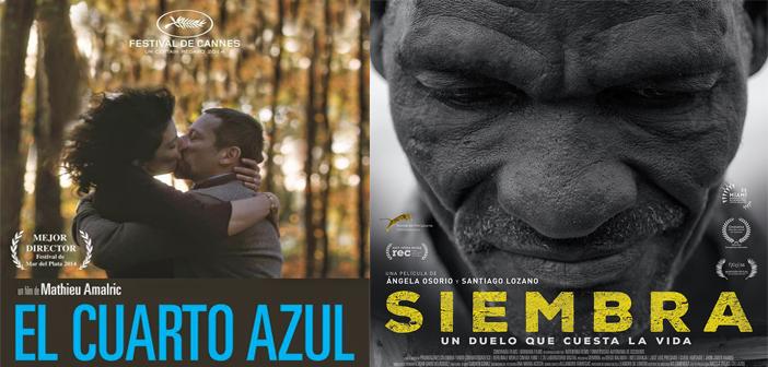 CARTELERA SALA COUNTRY EL CUARTO AZUL. (LE CHAMBRE BLEUE)  Abril 21 a 27:  4:00 y 8:30 p.m. y SIEMBRA.  Abril 21 a 27: 6:15 p.m.