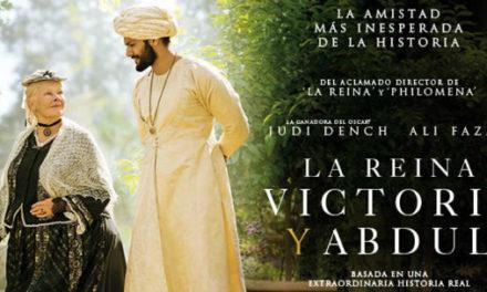 VICTORIA Y ABDUL 23 AL 29 DE NOVIEMBRE
